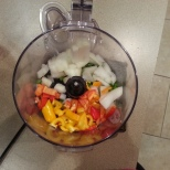 Buba's homemade salsa is super easy!