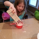measuring corn starch