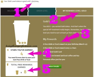 ways to earn from Starbucks rewards program