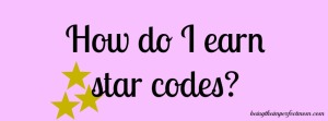 how to earn star codes for Starbucks