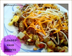 loaded hash browns