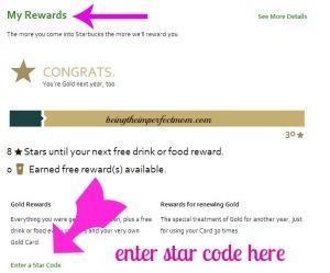 ways to earn from Starbucks rewards program