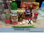 Buba's salsa is quick and easy to make!