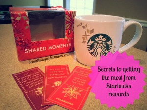 secrets to Starbucks rewards program